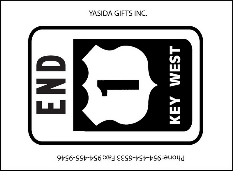 END 1 SIGN FLAT MAGNET 12PC * UOM: dozen (dz)* Minimum Order: 1
